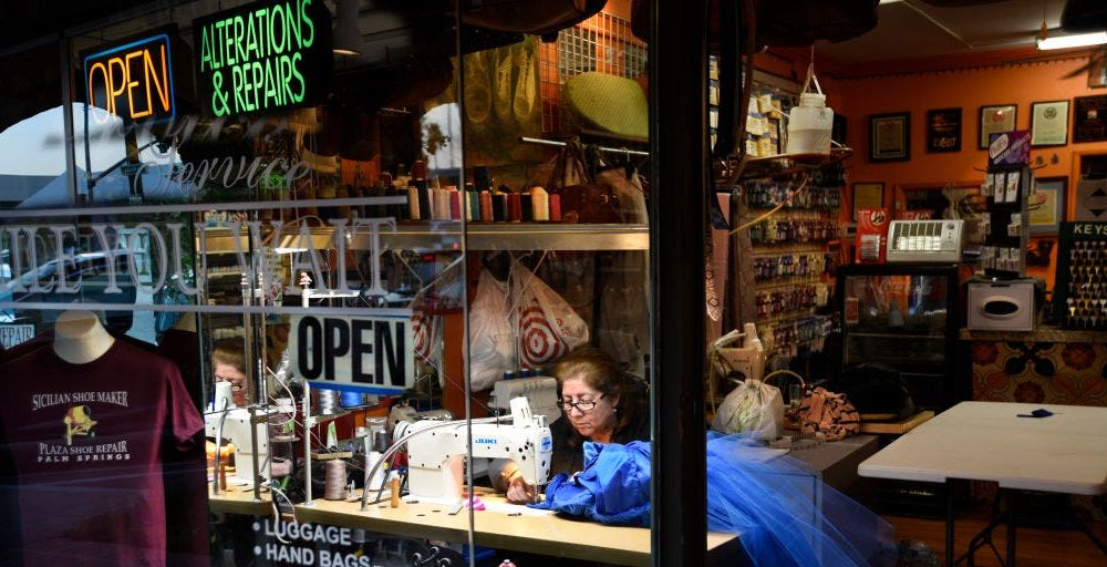 Small business optimism falls by the most ever in March, ending a record run as coronavirus worry sets in