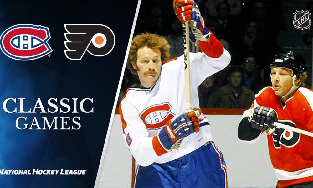 NHL Classic Games: 1976 MTL vs. PHI, Stanley Cup Final, Gm 4 – NHL