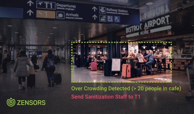 Activity-monitoring startup Zensors repurposes its tech to help coronavirus response