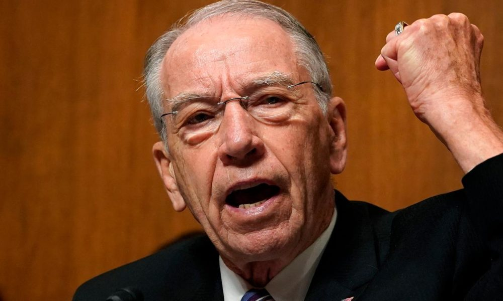 Grassley, in bipartisan letter, seeks 'detailed' explanation from Trump on IG firing – Fox News