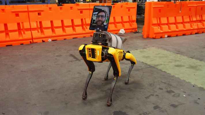 Boston Dynamics' Spot finds a new career in telemedicine amid COVID-19 pandemic