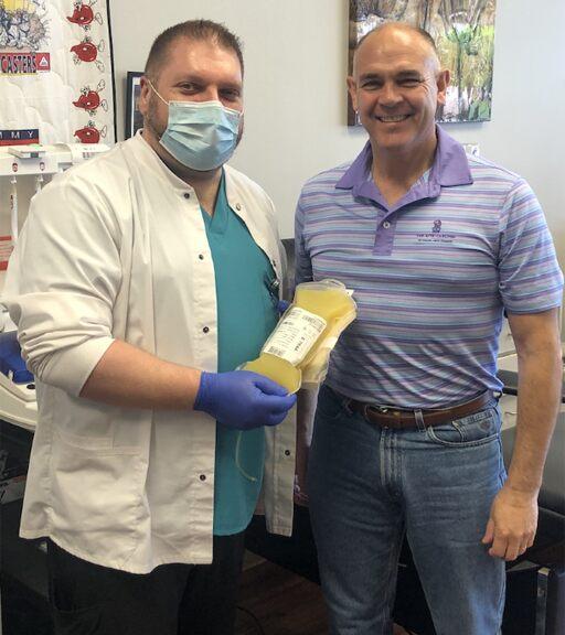Georgia state senator's 'second chance at life' after surviving coronavirus, giving plasma