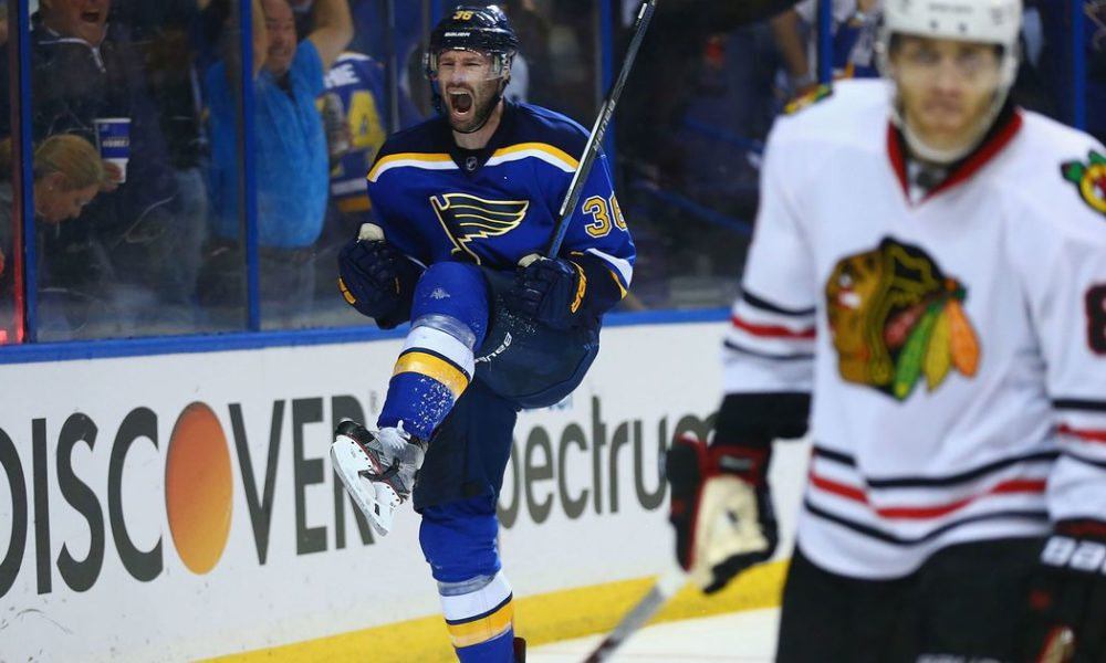 FOX Sports Midwest to replay 2016 Blues-Blackhawks series