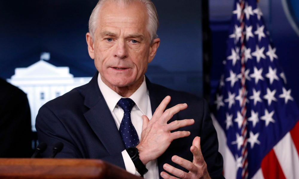 Trump aide Peter Navarro warned 'as many as 1.2 million souls' could be lost to coronavirus