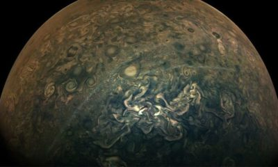 NASA news: Juno spacecraft's picture of Jupiter looks like a beautiful watercolour – Express.co.uk