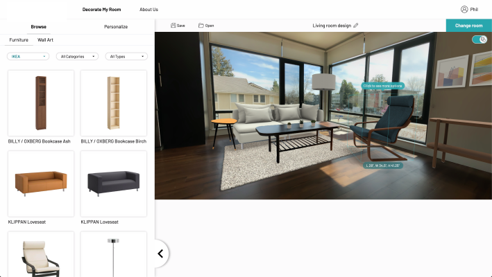 Ikea acquires AI imaging startup Geomagical Labs to supercharge room visualisations