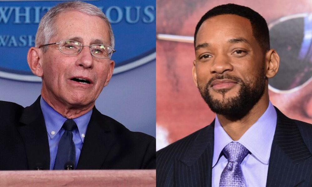 Will Smith asks Anthony Fauci why the coronavirus disproportionately affects African-Americans