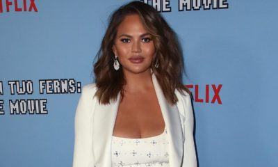 Chrissy Teigen fires back at online trolls for making fun of her 'square' body