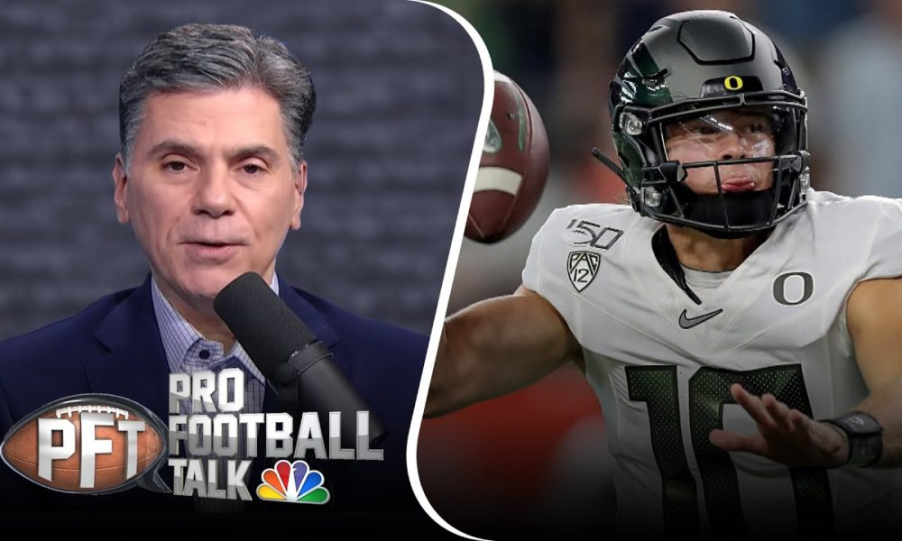 PFT Overtime: Predicting landing spots for top QBs in the NFL Draft | Pro Football Talk | NBC Sports – NBC Sports