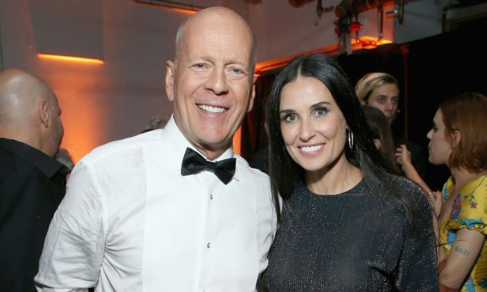 Demi Moore, Bruce Willis dance together in quarantine as Rumer teases them: 'Act like you like each other'