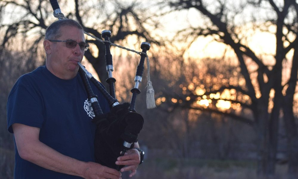Bagpipe-blowing fire chief, Bruce Springsteen-Jon Bon Jovi benefit, chickens go to waste: News from around our 50 states