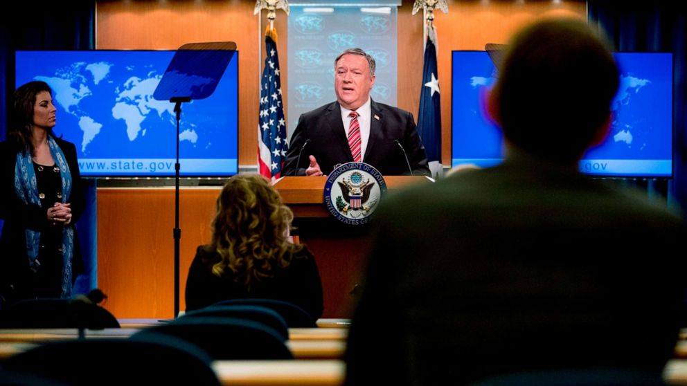 Pompeo says no 'certainty,' but 'significant evidence' virus came from Chinese lab
