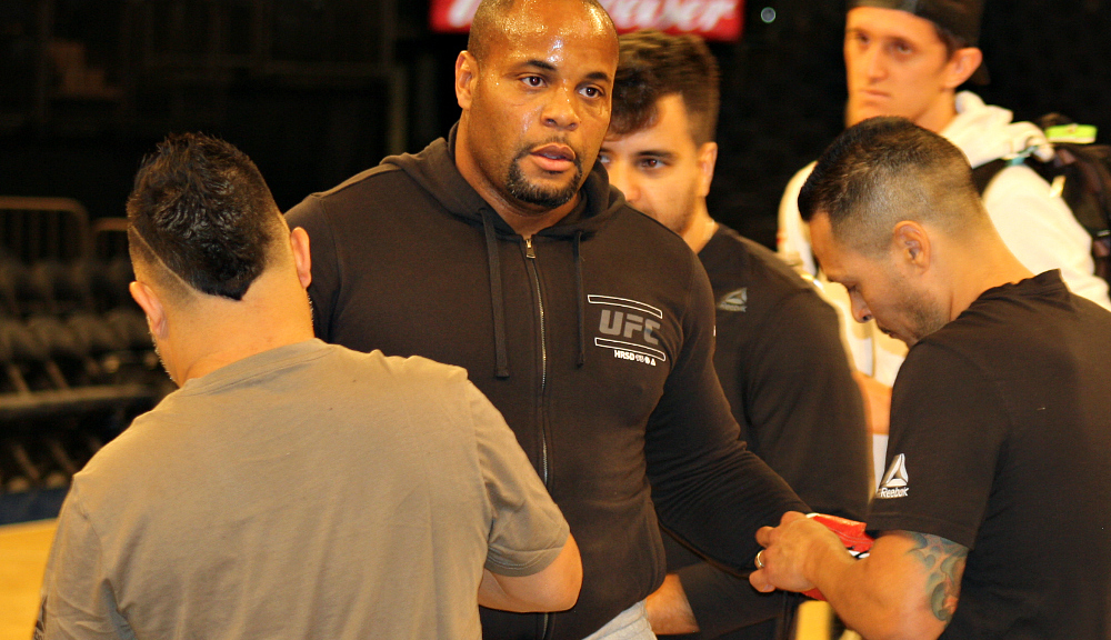 Daniel Cormier uses coronavirus pandemic downtime to raise funds for youth wrestling