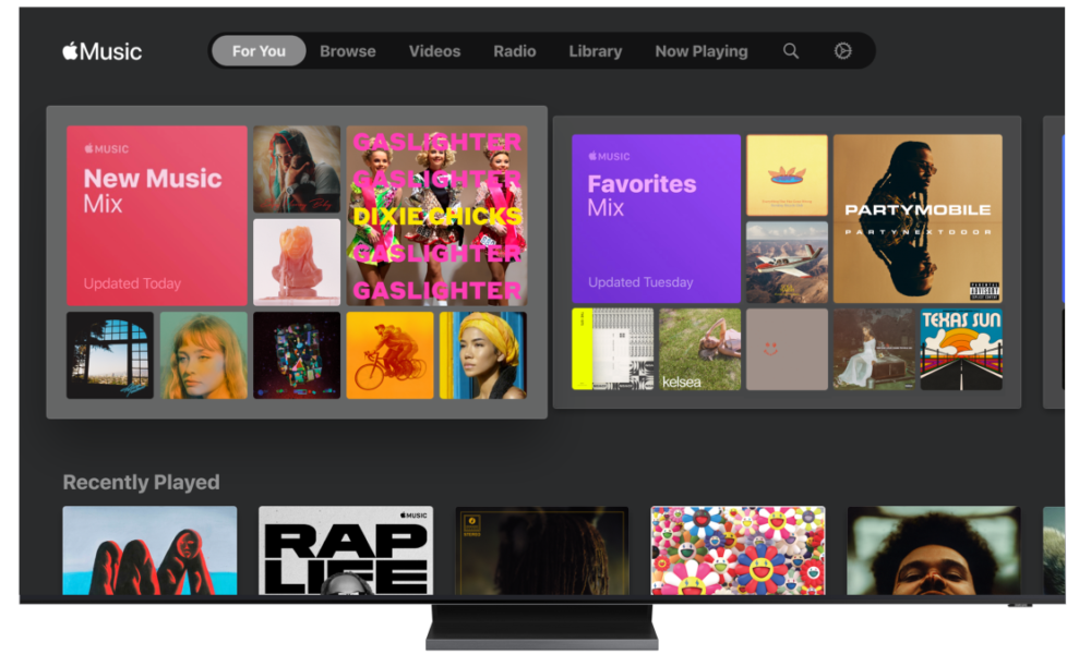 Apple Music Is Coming to Samsung TVs