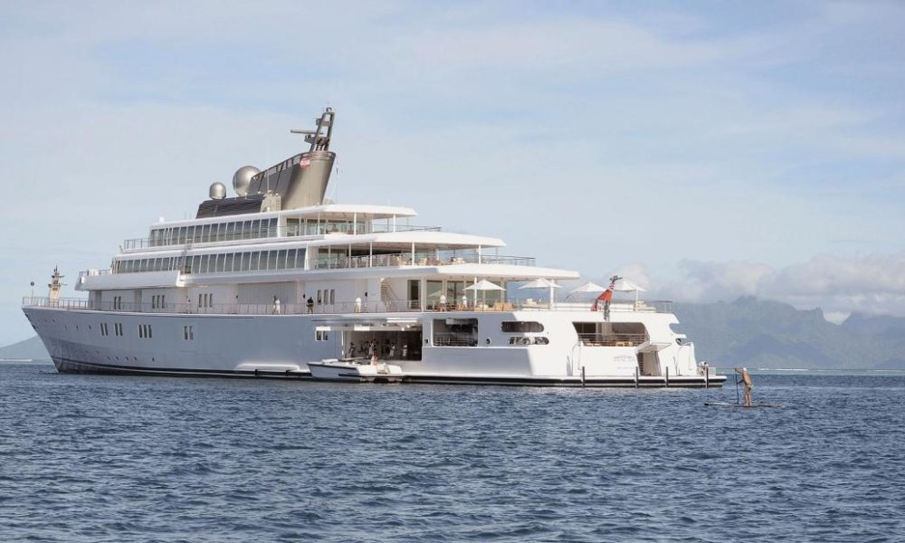 Are billionaires really self-isolating on superyachts?