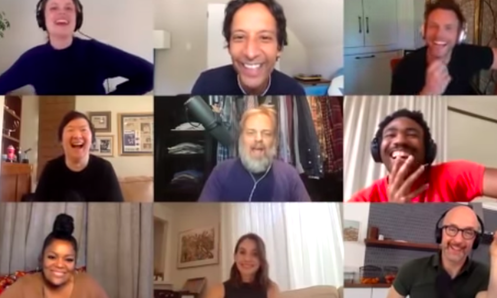 'Community' cast tease Donald Glover about his fame in chaotic reunion Zoom call