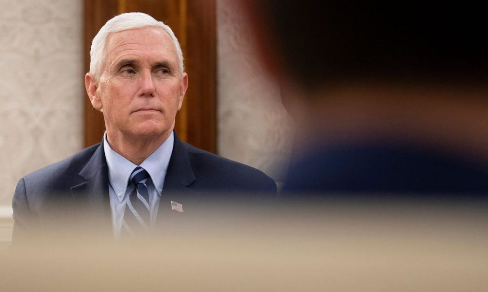 Opinion: Mike Pence's irrational fear of masks