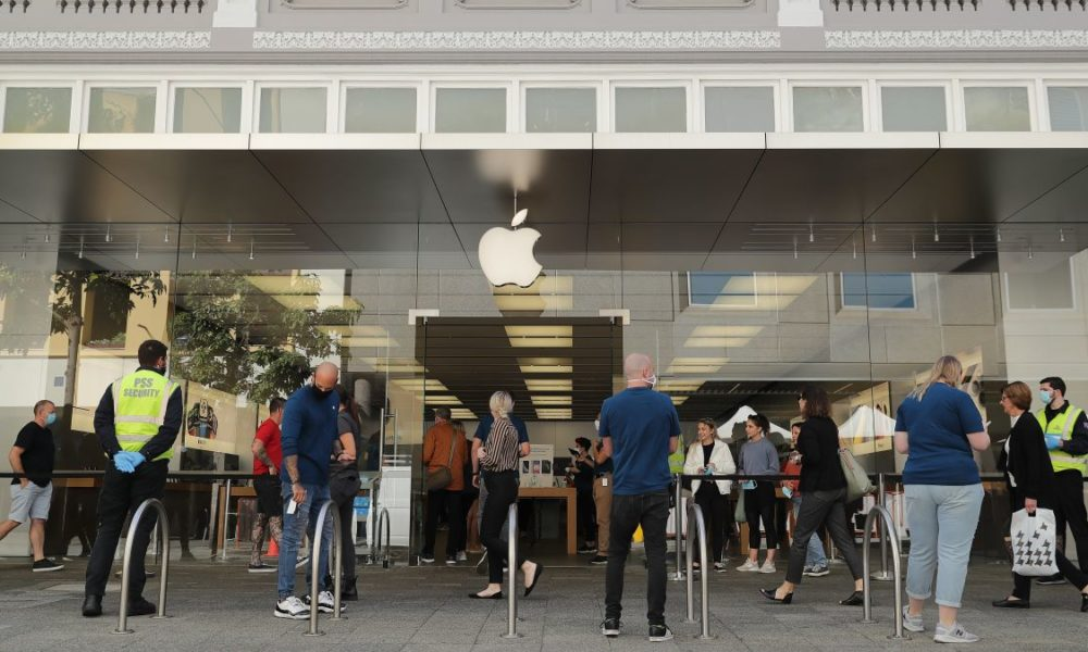 Apple Is Reopening 25 Stores in the U.S.—With Some New Rules