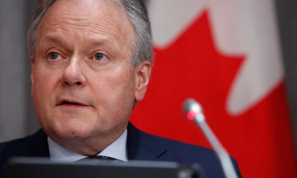 Bank of Canada warns of excess business, household debt from COVID-19 crisis