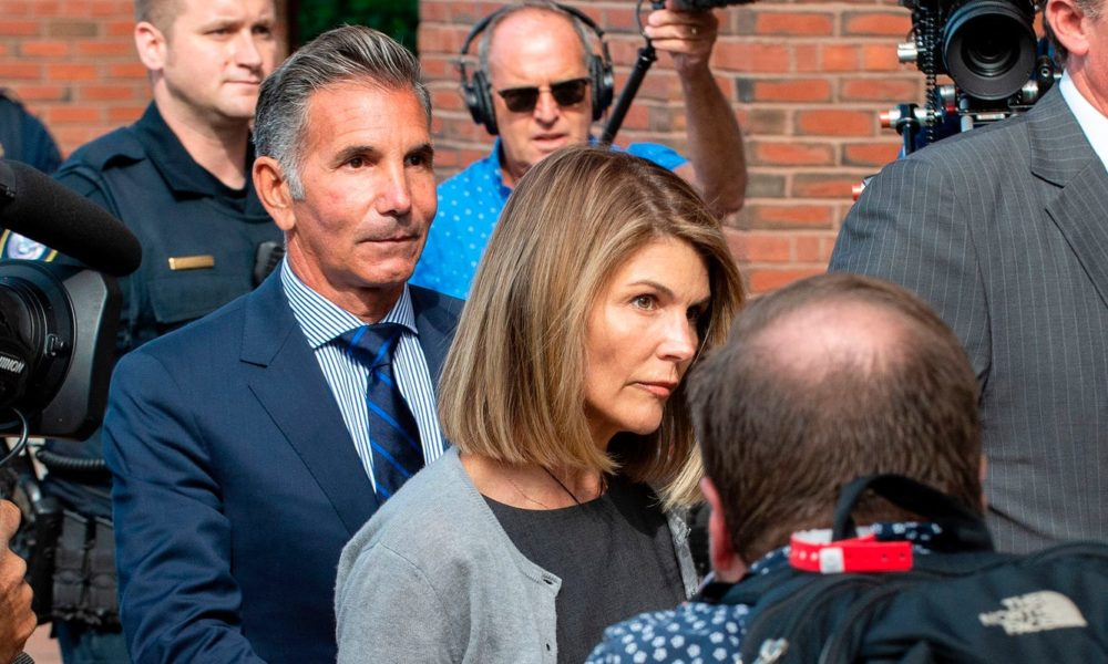 Lori Loughlin, husband Mossimo Giannulli via Zoom enter guilty pleas in college admissions scandal