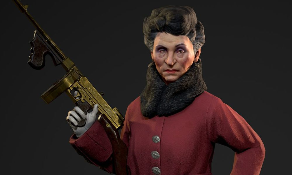 John Romero's great-grandmother was a 1920s crime boss, now she's in a video game