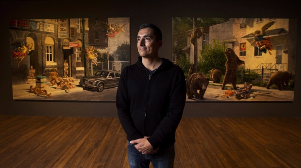 Kent Monkman apologizes for painting criticized as depicting 'revenge rape' – CP24 Toronto's Breaking News