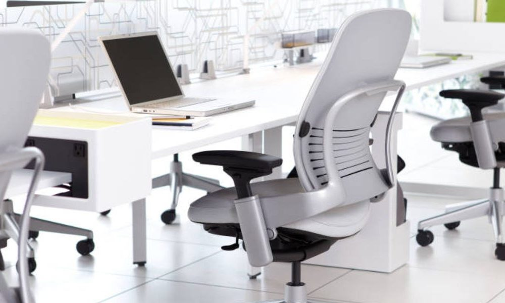 This fully adjustable office chair relieves my back pain and supports my entire body — I can sit on it for hours without getting sore