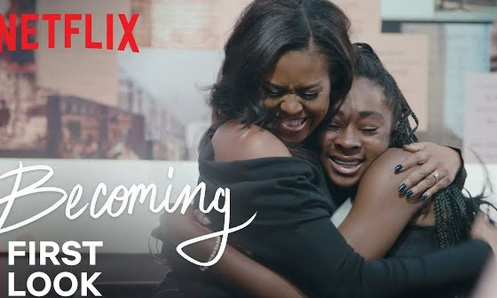 Netflix released a touching first look at Michelle Obama documentary 'Becoming'