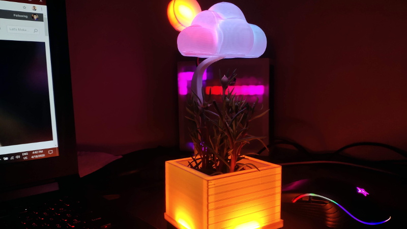 Weather Display is Cloudy With a Chance of ESP8266