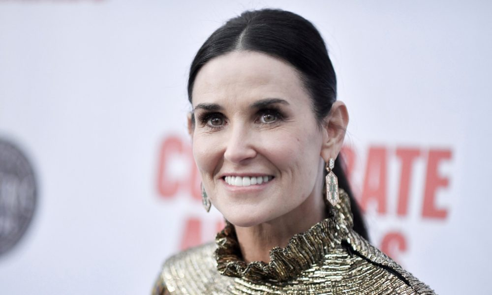 Demi Moore shares what she does to 'center' herself during coronavirus quarantine