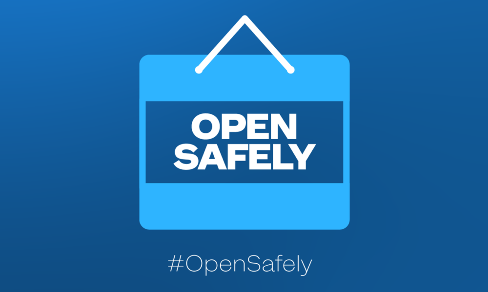 Health leaders: We stuck together to #StayHome, now we can start together to #OpenSafely