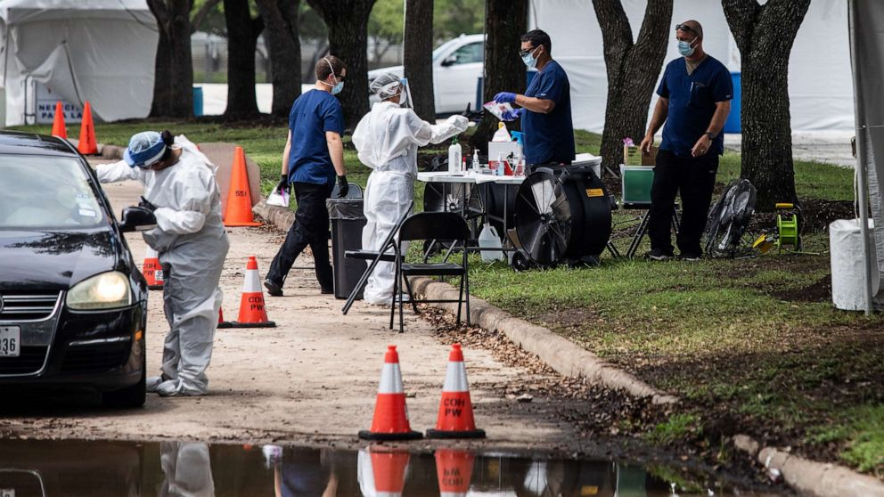 In reversal, Trump administration will extend support to Texas COVID-19 testing sites