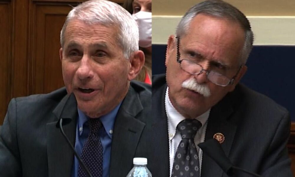 Dr. Fauci gets upset with GOP lawmaker's question