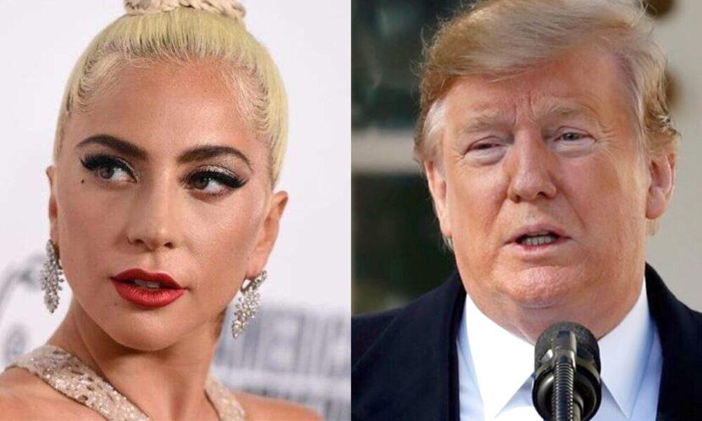 Lady Gaga calls President Trump a 'fool' and a 'racist'