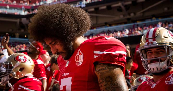 George Floyd death: Colin Kaepernick offers to pay protesters' legal fees – Global News