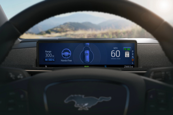 Ford to roll out hands-free driving in Q3 of 2021, starting with the Mustang Mach-E