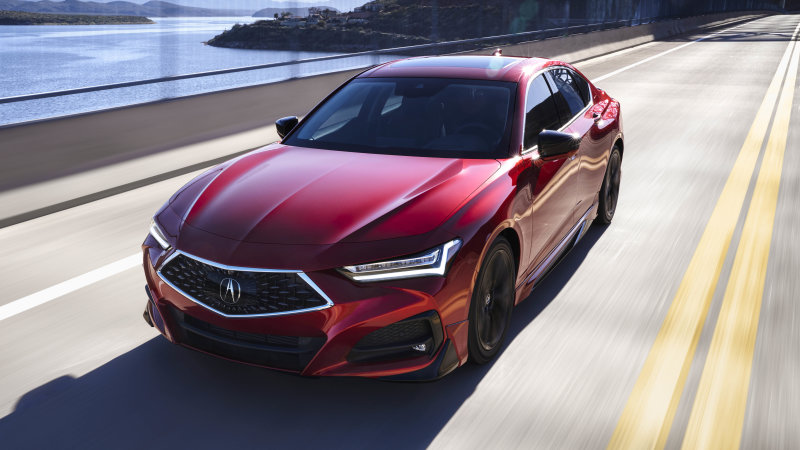 2021 Acura TLX is the first model with Honda's new proprietary airbag