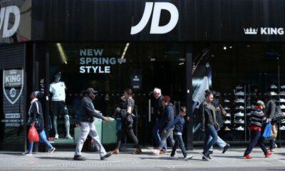 JD Sports says mall footfall still weak, cancels final dividend – Reuters.com