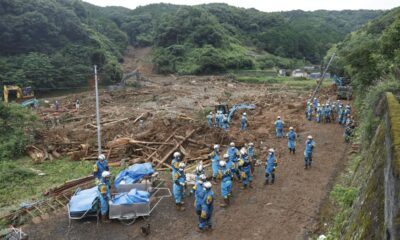 Japan braces for return of torrential southern rains that killed 16 – Reuters