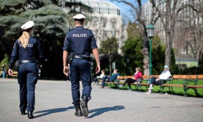 Man in Austria fined £450 for 'loudly' farting in front of police officers