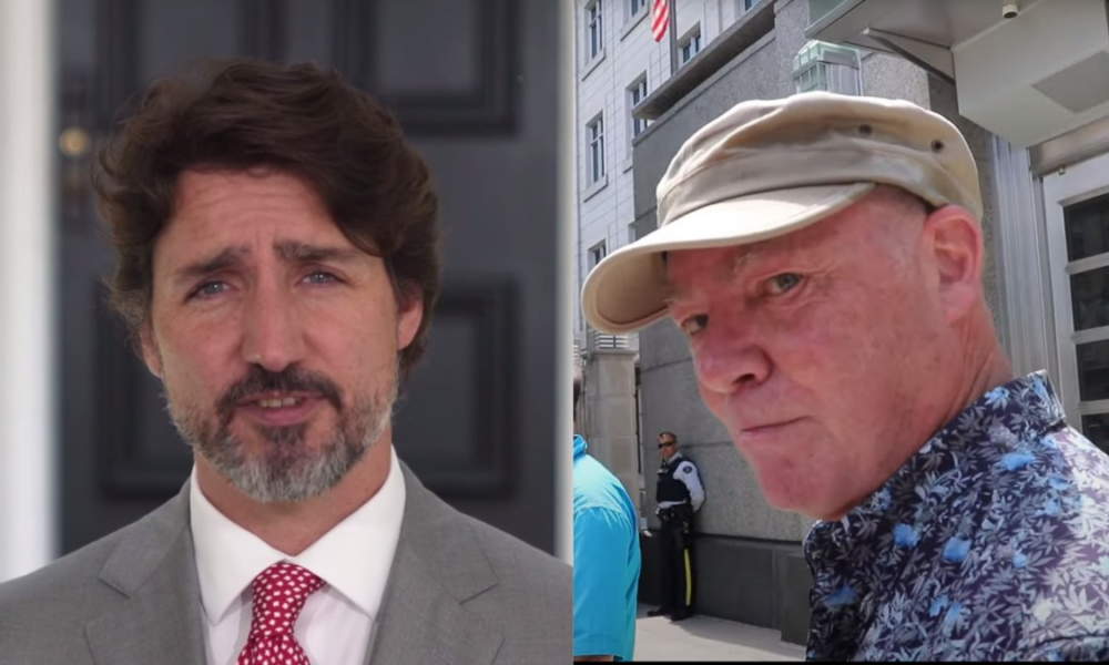 A QAnon Supporter Has Raised $140K To Prosecute Justin Trudeau For Something or Other