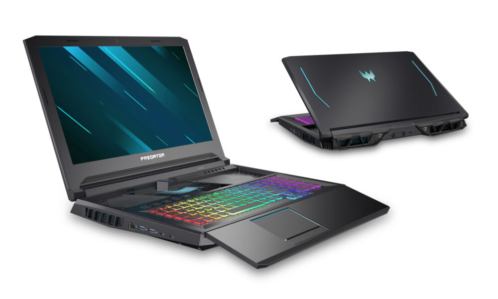 Acer updates its gaming laptops with new Intel chips