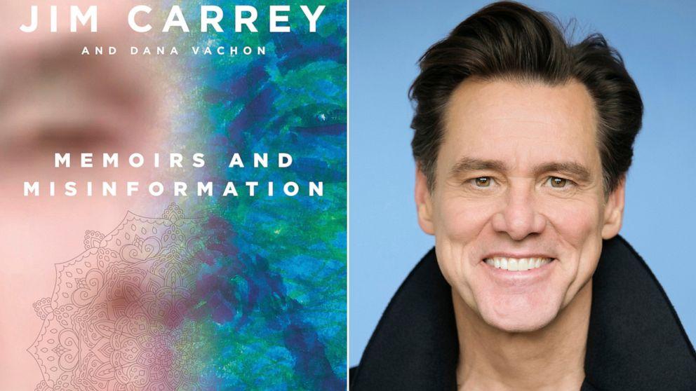 With a satirical fictional memoir, Jim Carrey gets real