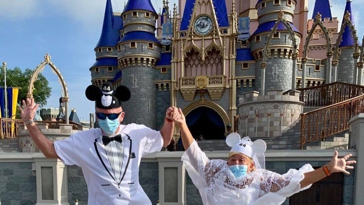Lessons from Walt Disney World's reopening: Smaller crowds make up for COVID-19 protocols