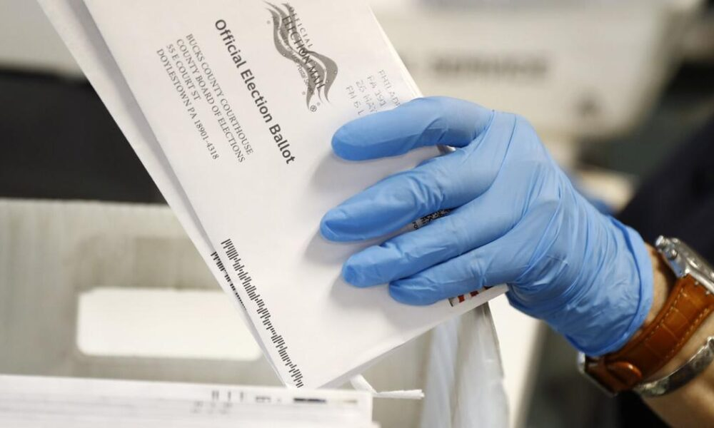 Wealthy donors pour millions into fight over mail-in voting
