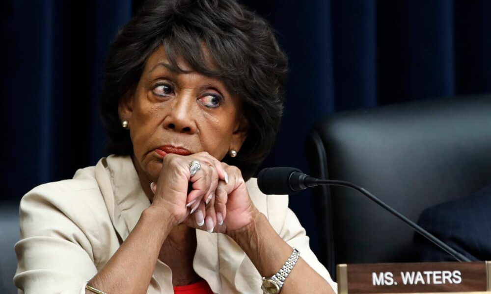 Rep. Maxine Waters spotted pulling over to confront police in LA for stopping Black driver: report