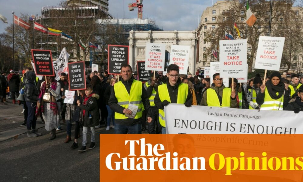 The Guardian view on stabbings: stick to a public-health approach   Editorial