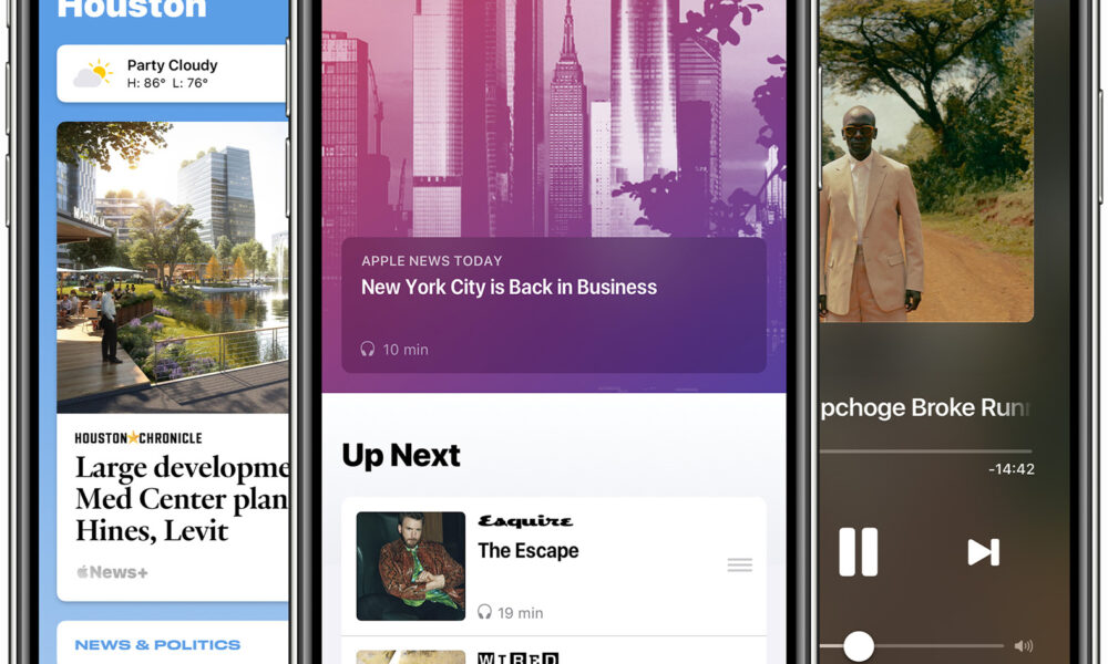 Apple Launches Audio Stories in Apple News, Adds Local News in Five Regions