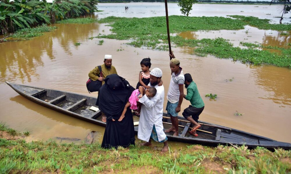 Floods, coronavirus hobble two of India's poorest states – Reuters