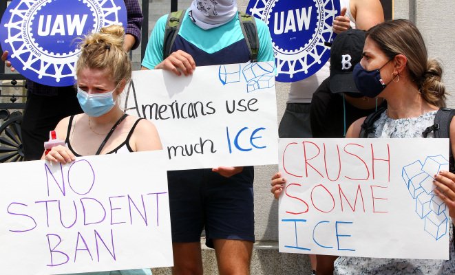 After colleges sue, ICE backs down from student visa rule change